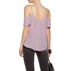 Joie Adorlee Cold shoulder Silk Blouse